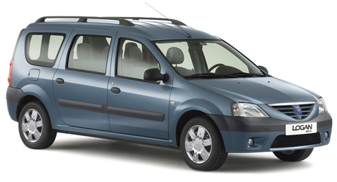 Dacia Logan Mcv 7 Person